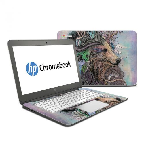 Forest Warden HP Chromebook 14 Skin