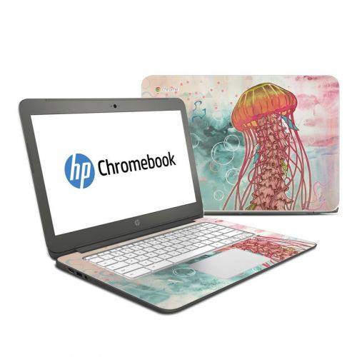 Jellyfish HP Chromebook 14 Skin