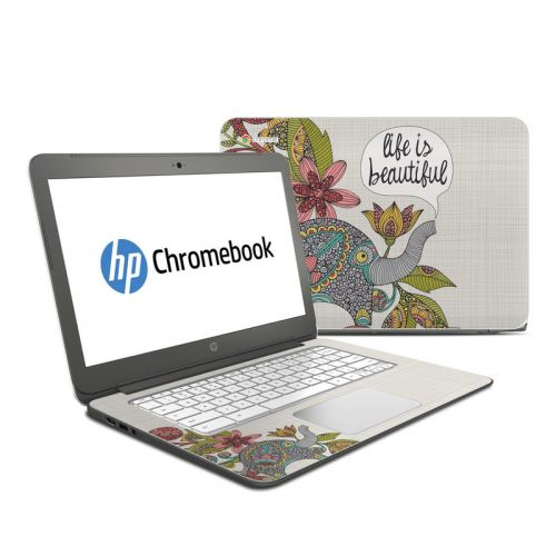 Life is Beautiful HP Chromebook 14 Skin