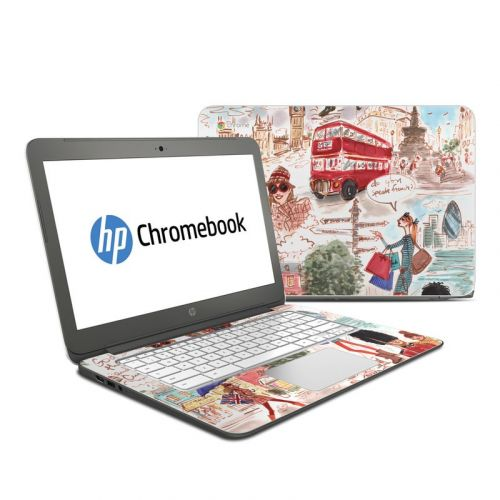 London HP Chromebook 14 Skin