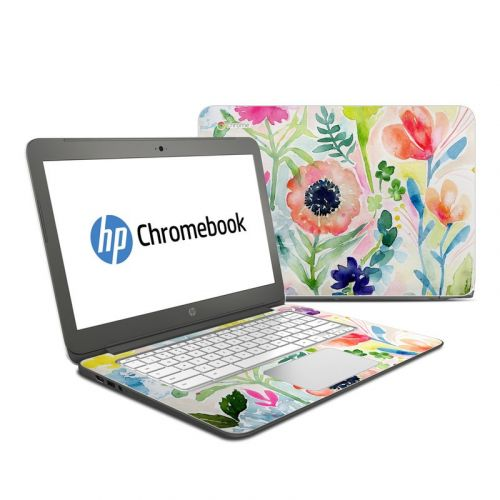 Loose Flowers HP Chromebook 14 Skin