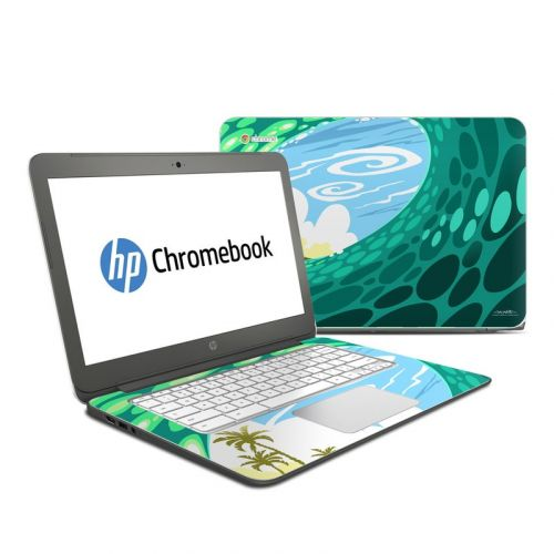 Lunch Break HP Chromebook 14 Skin