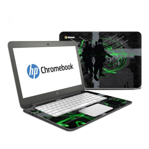 Modern War HP Chromebook 14 Skin
