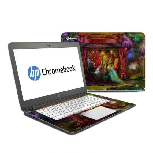 A Mad Tea Party HP Chromebook 14 Skin
