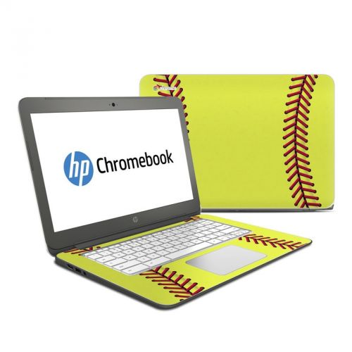 Softball HP Chromebook 14 Skin