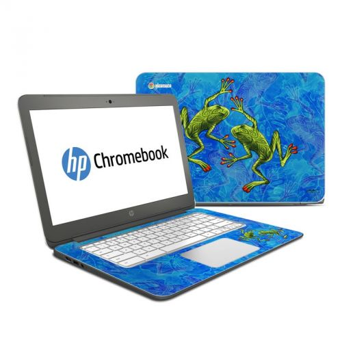 Tiger Frogs HP Chromebook 14 Skin