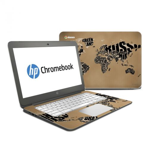 Type Map HP Chromebook 14 Skin
