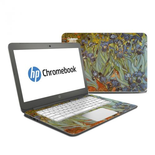 Irises HP Chromebook 14 Skin