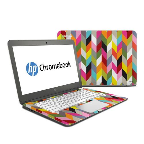 Ziggy Condensed HP Chromebook 14 Skin