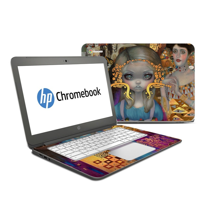 Alice in a Klimt Dream HP Chromebook 14 Skin
