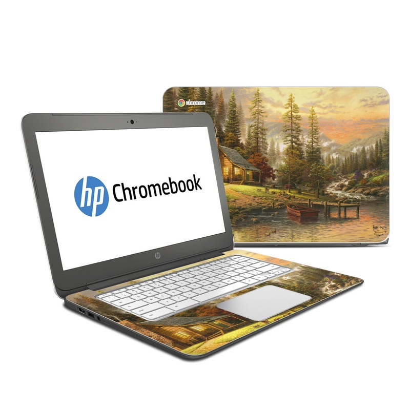 A Peaceful Retreat HP Chromebook 14 Skin