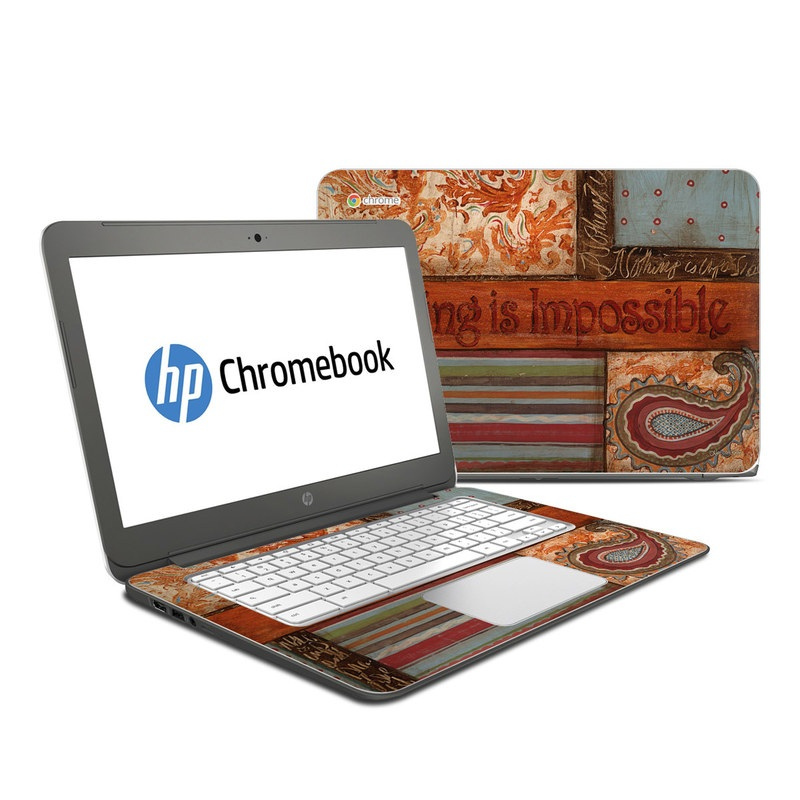 Be Inspired HP Chromebook 14 Skin
