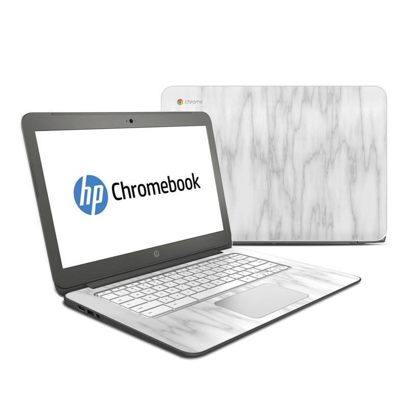 Bianco Marble HP Chromebook 14 Skin