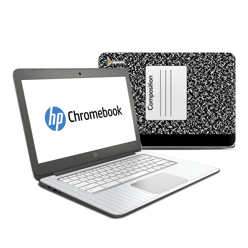 HP Chromebook 14 Skin design of Text, Font, Line, Pattern, Black-and-white, Illustration with black, gray, white colors