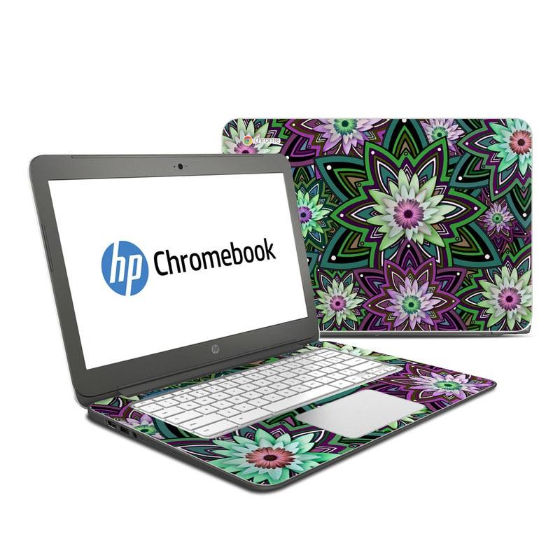Daisy Trippin HP Chromebook 14 Skin