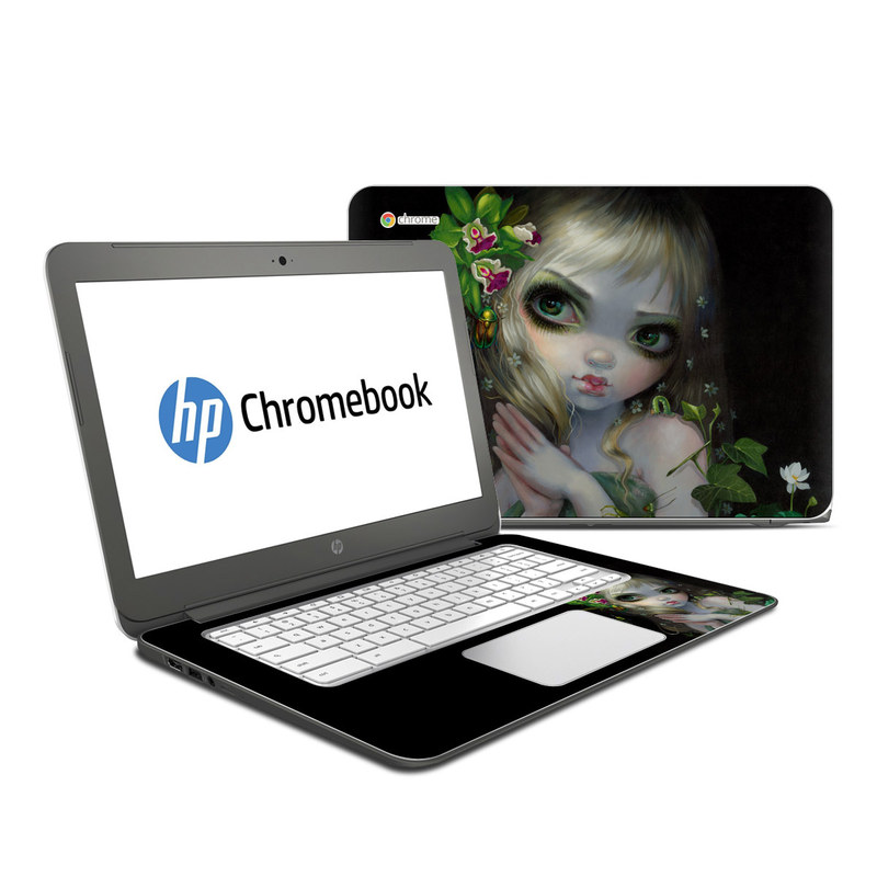 Green Goddess HP Chromebook 14 Skin