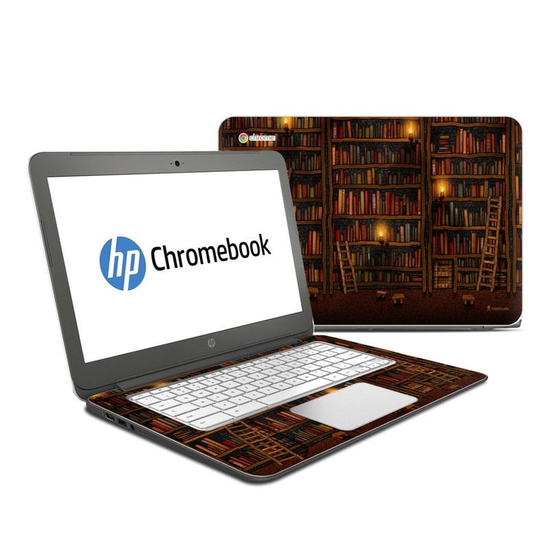 Library HP Chromebook 14 Skin