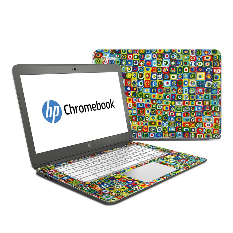 Line Dancing HP Chromebook 14 Skin
