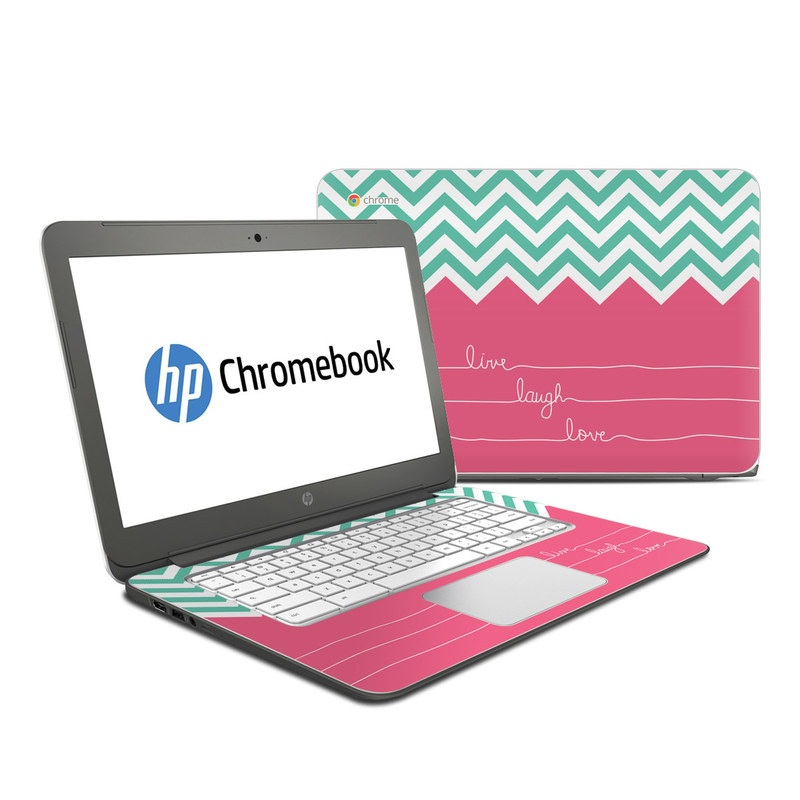 Live Laugh Love HP Chromebook 14 Skin