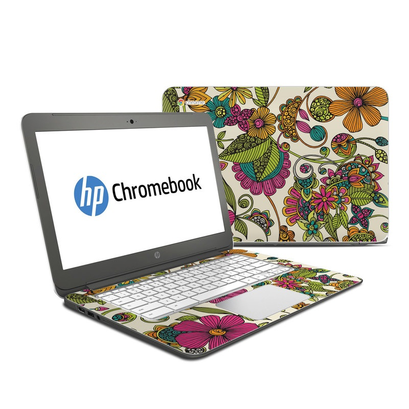 Maia Flowers HP Chromebook 14 Skin