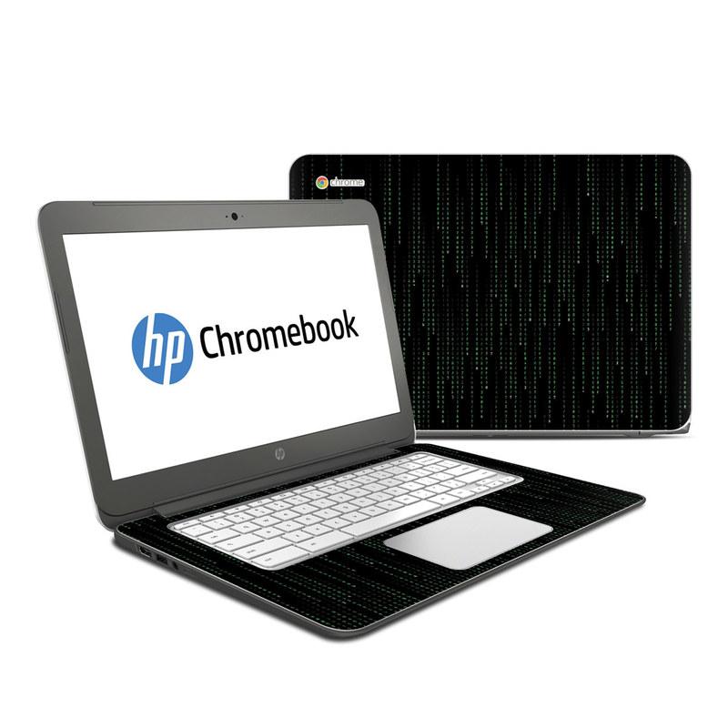 Matrix Style Code HP Chromebook 14 Skin