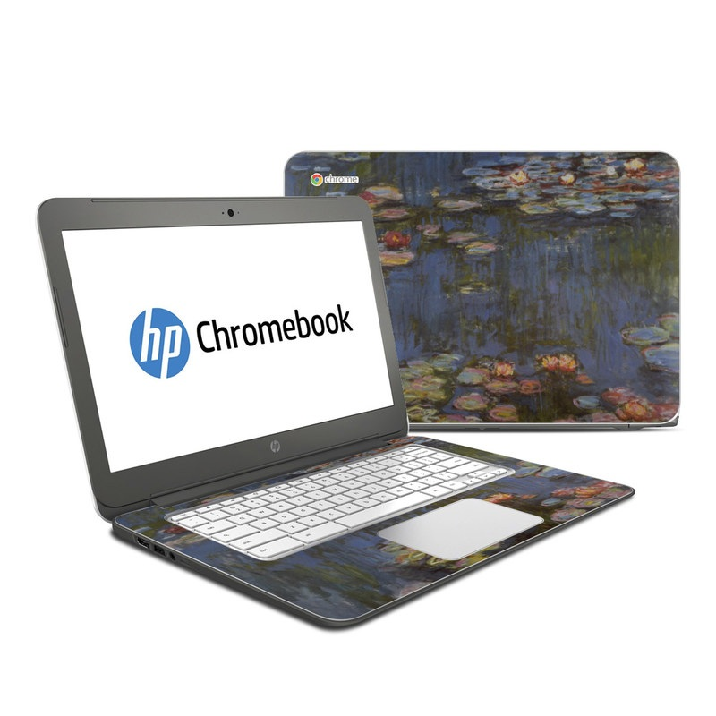 Water lilies HP Chromebook 14 Skin