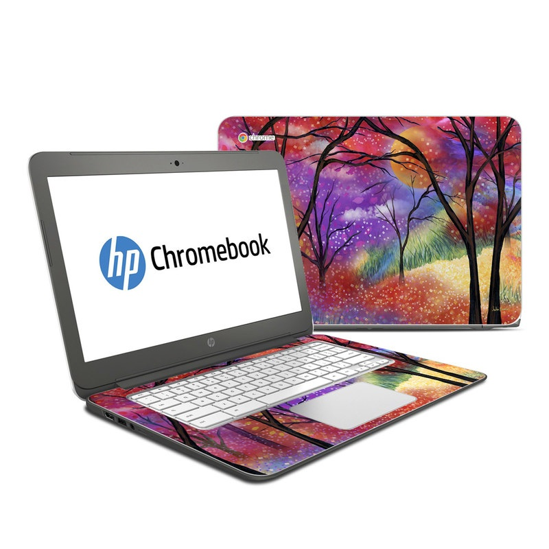 Moon Meadow HP Chromebook 14 Skin