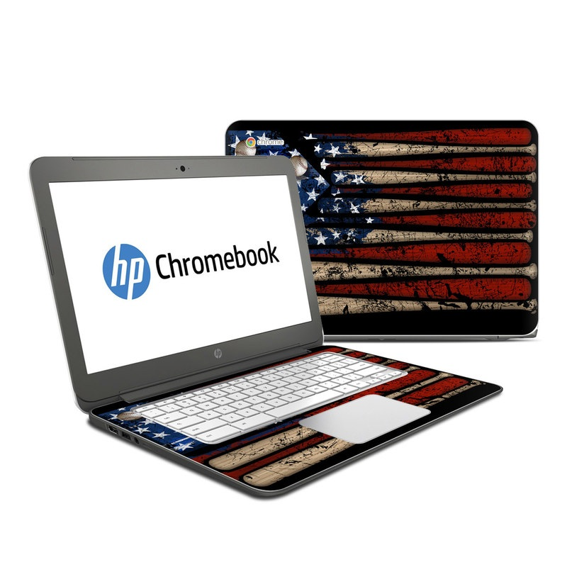 Old Glory HP Chromebook 14 Skin
