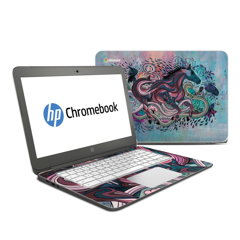 Poetry in Motion HP Chromebook 14 Skin
