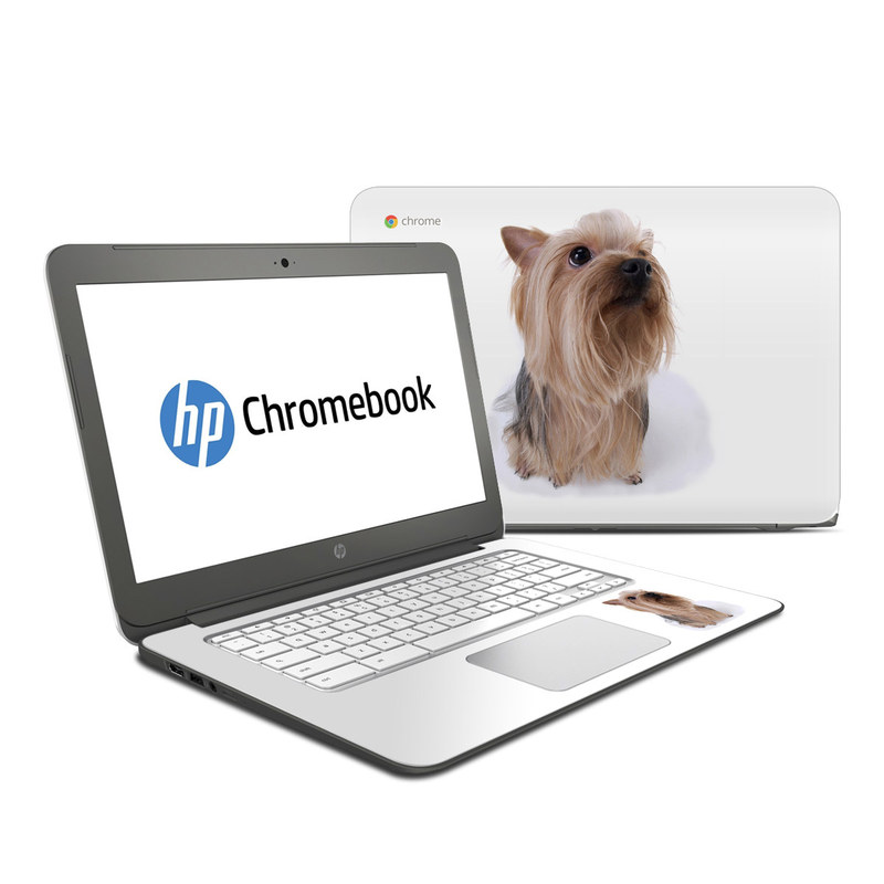 Puppy Love 2 HP Chromebook 14 Skin