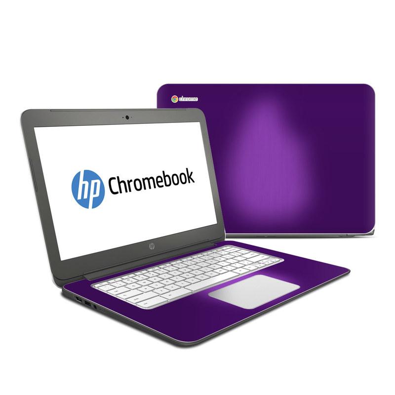 Purple Burst HP Chromebook 14 Skin