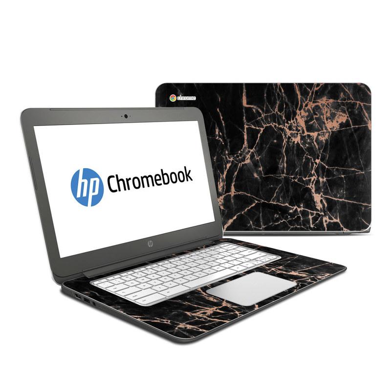 Rose Quartz Marble HP Chromebook 14 Skin