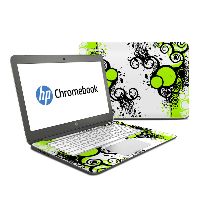 Simply Green HP Chromebook 14 Skin