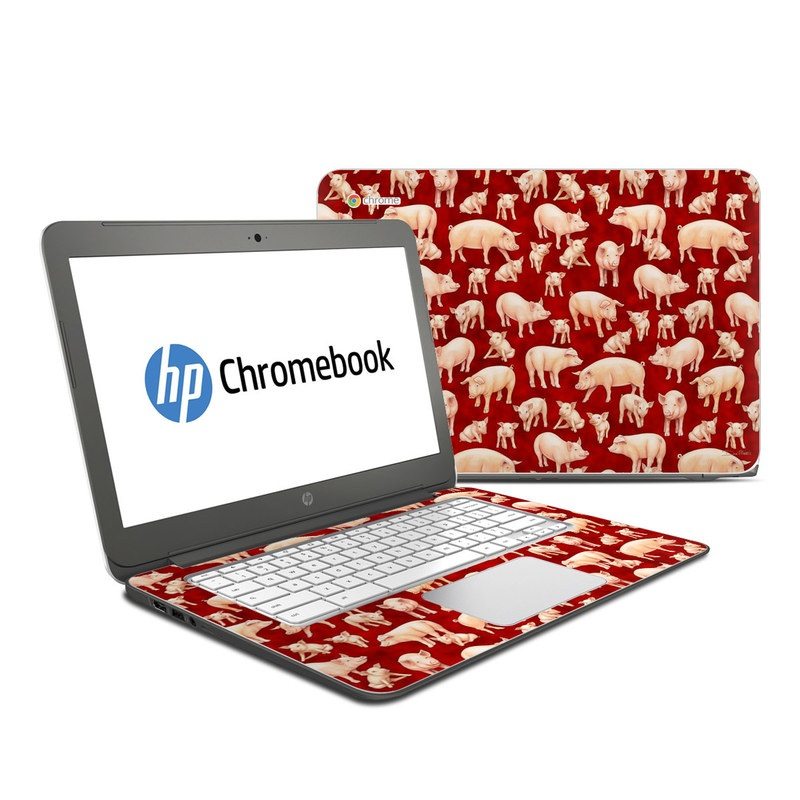 Some Pig HP Chromebook 14 Skin