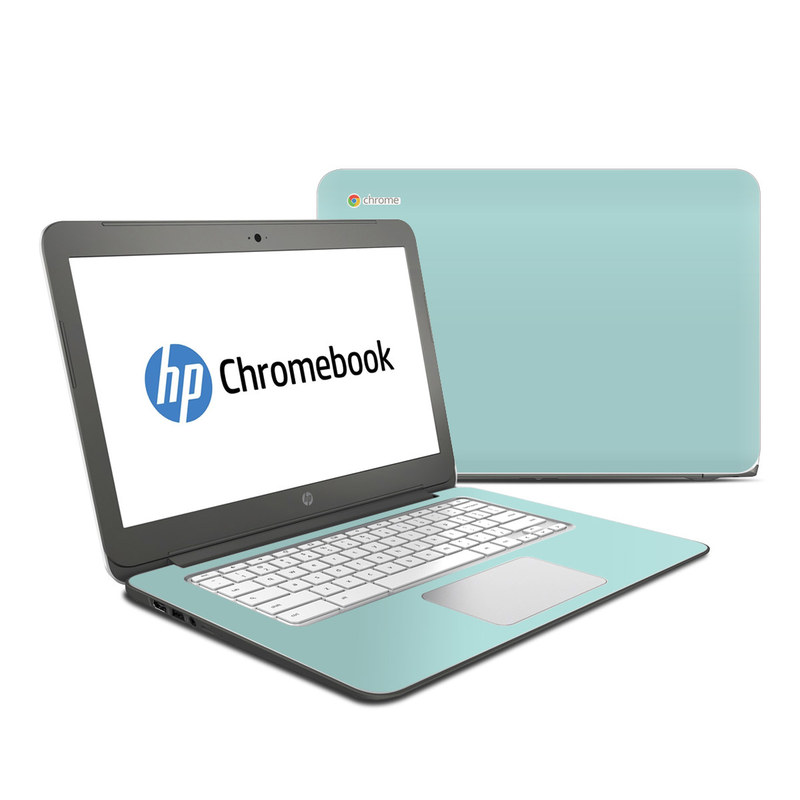 Solid State Mint HP Chromebook 14 Skin