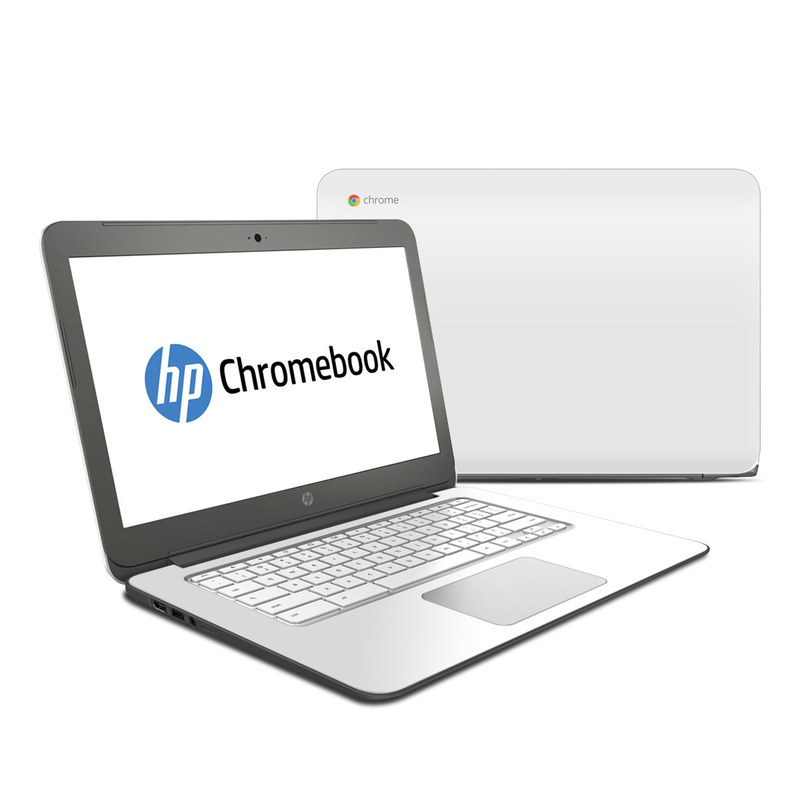 Solid State White HP Chromebook 14 Skin