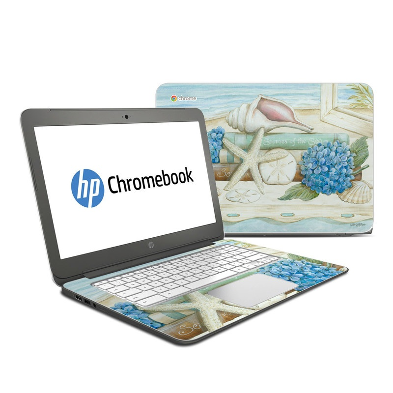 Stories of the Sea HP Chromebook 14 Skin