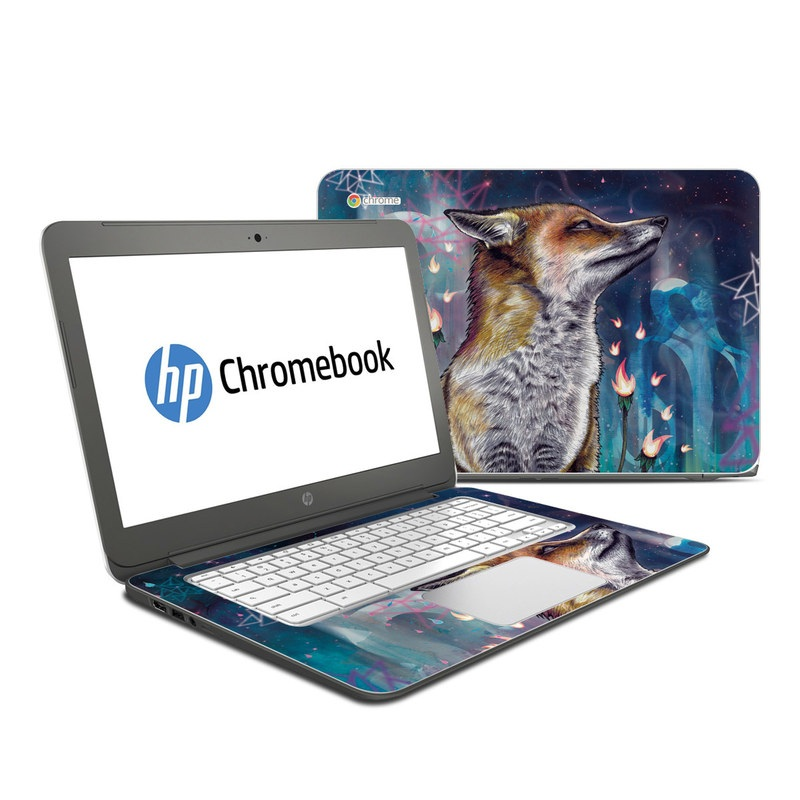 There is a Light HP Chromebook 14 Skin
