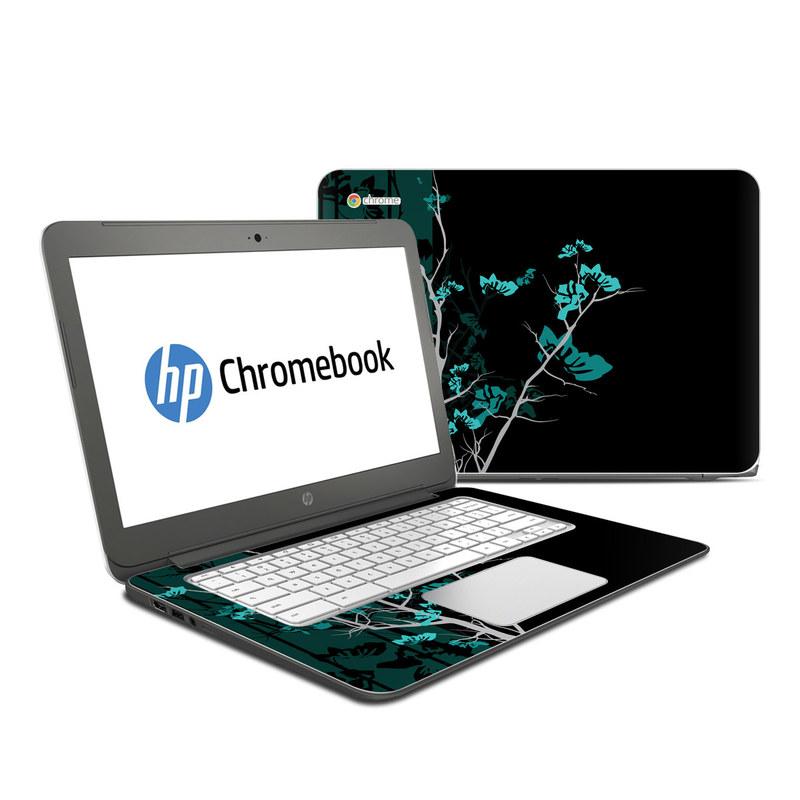 Aqua Tranquility HP Chromebook 14 Skin