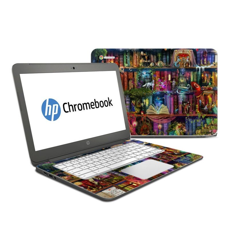 Treasure Hunt HP Chromebook 14 Skin