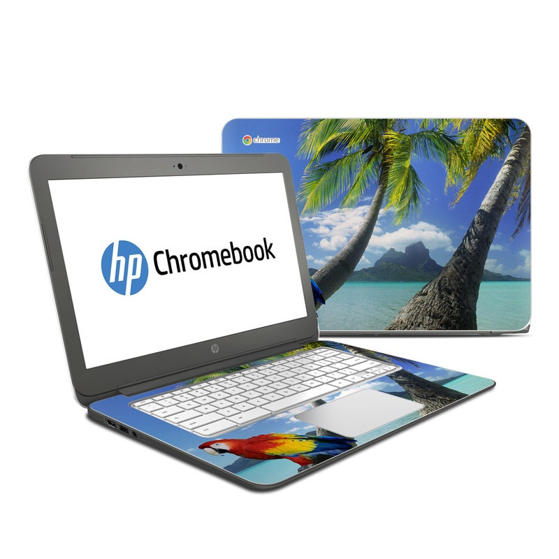 Tropics HP Chromebook 14 Skin