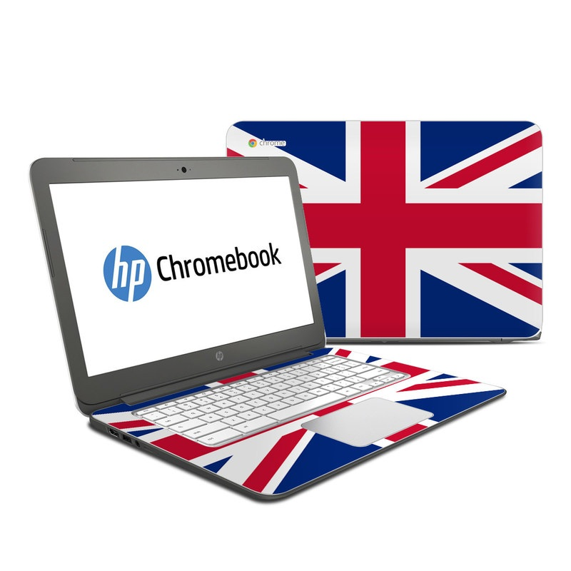 HP Chromebook 14 Skin design of Flag, Red, Line, Electric blue, Design, Font, Pattern, Parallel, Flag Day (USA) with red, white, blue colors