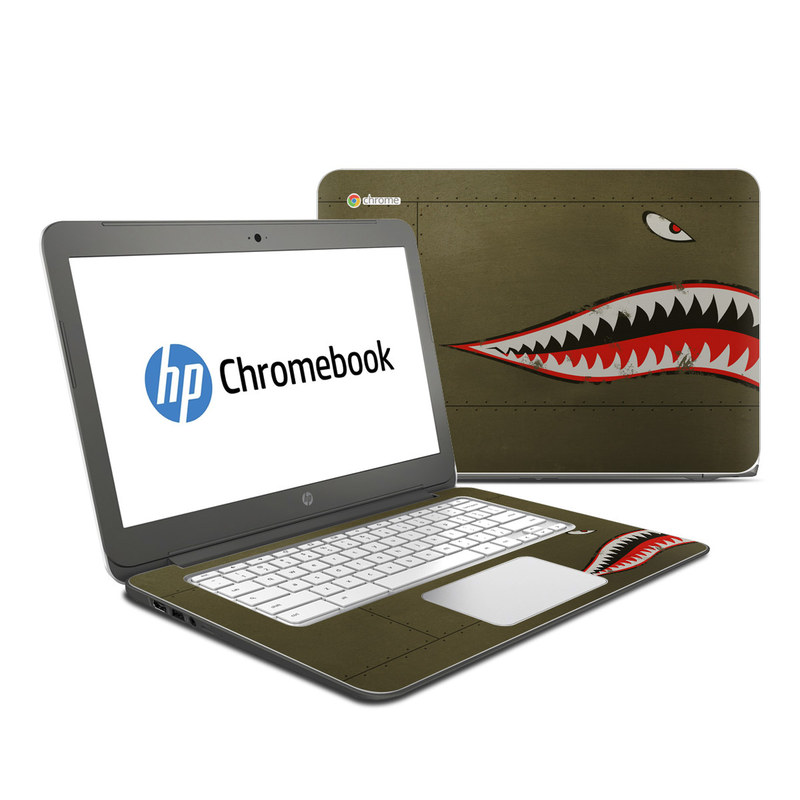 USAF Shark HP Chromebook 14 Skin