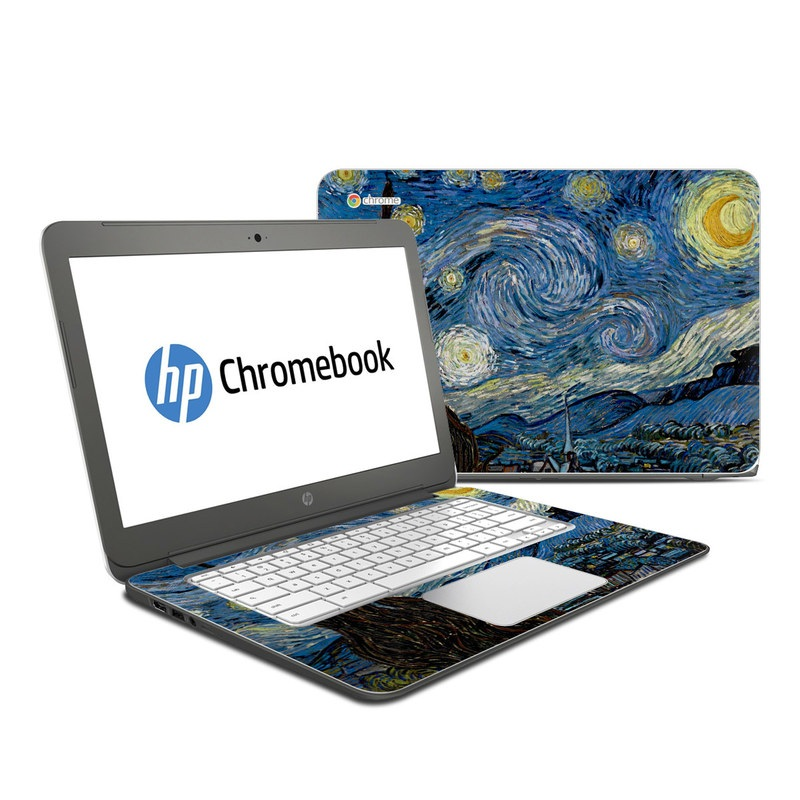 Starry Night HP Chromebook 14 Skin