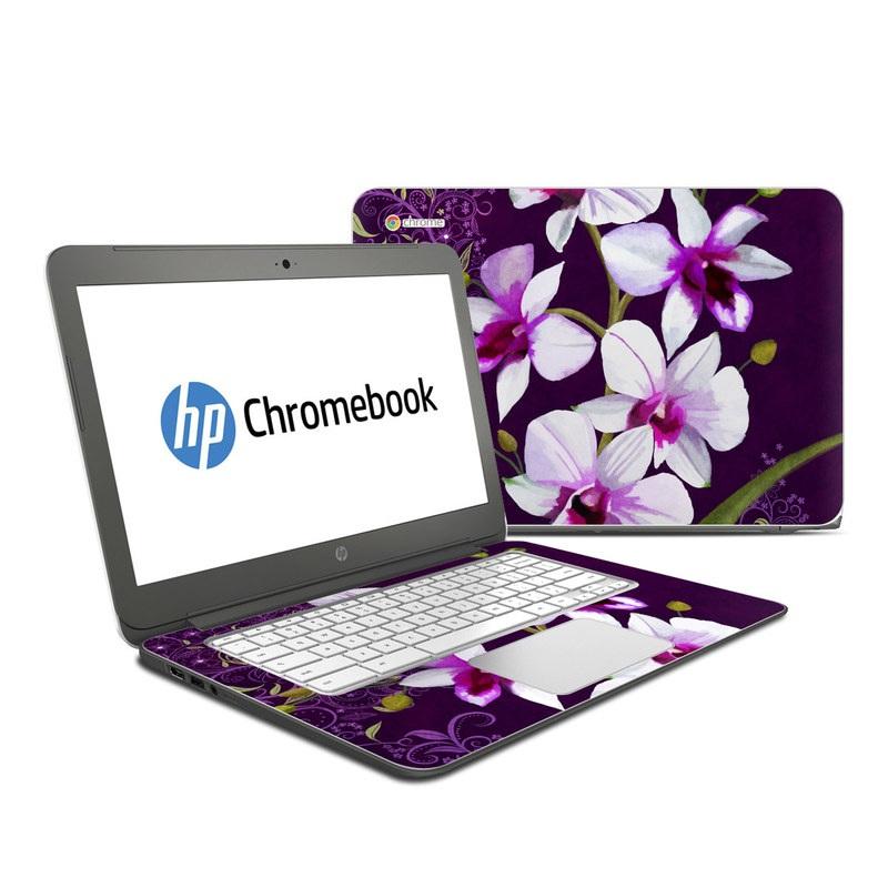 Violet Worlds HP Chromebook 14 Skin