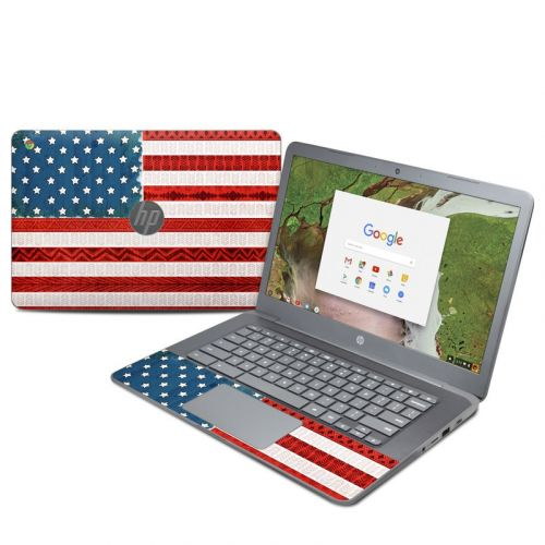 American Tribe HP Chromebook 14 G5 Skin