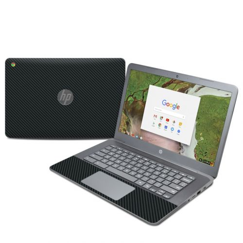 Carbon HP Chromebook 14 G5 Skin