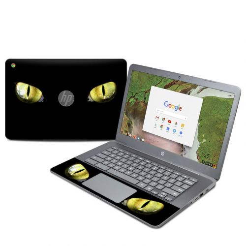 Cat Eyes HP Chromebook 14 G5 Skin