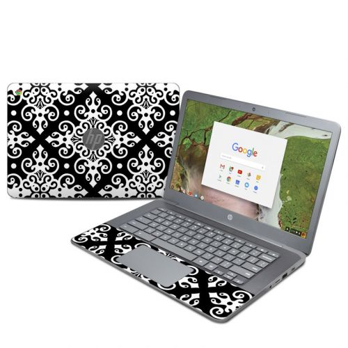 Noir HP Chromebook 14 G5 Skin