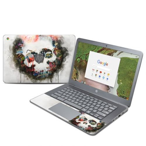 Skull Splat HP Chromebook 14 G5 Skin